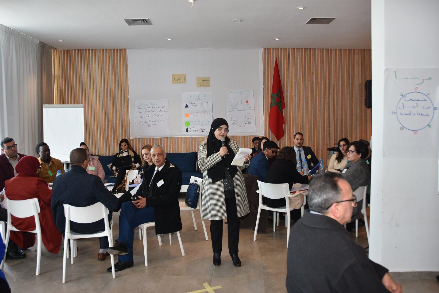 سومية فخري تفتتح الورشة التفاعلية حول النوع والإدماج الاجتماعي المنظمة طرف مجلس الجهة