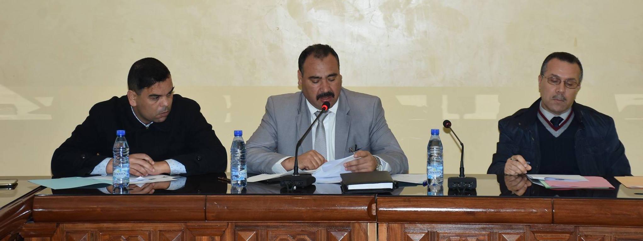 اجتماع لجنة التنمية القروية والفلاحة والنقل غير الحضري