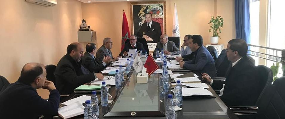 أحمد الديبوني يترأس اجتماع لجنة الميزانية والشؤون المالية والبرمجة