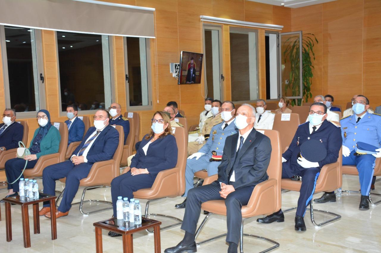 رئيسة مجلس جهة طنجة تطوان الحسيمة تحضر مراسيم متابعة الخطاب الملكي بمناسبة الذكرى 22 لعيد العرش